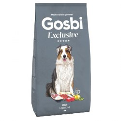 Сухой корм Gosbi EXCLUSIVE DIET MEDIUM 3 кг