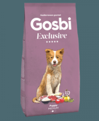 Сухой корм Gosbi EXCLUSIVE PUPPY MEDIUM 12 кг