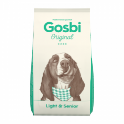Сухой корм Gosbi ORIGINAL LIGHT & SENIOR DOG 12 кг