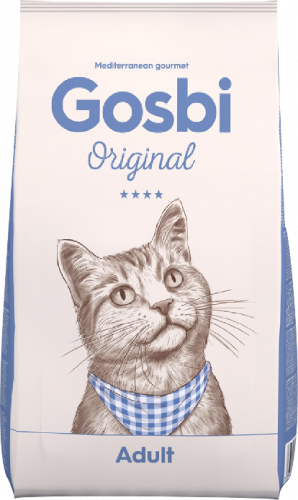 Сухой корм Gosbi ORIGINAL ADULT CAT 3 кг