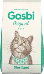 Сухой корм Gosbi ORIGINAL STERILIZED CAT 7 кг