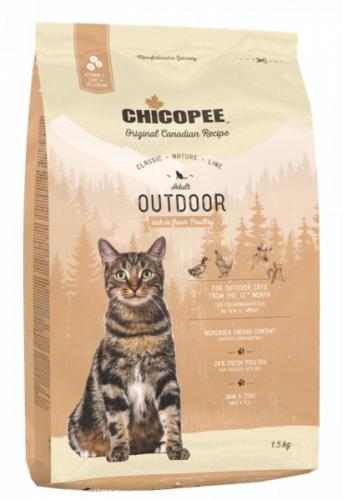 Сухой корм Chicopee CNL OUTDOOR для активных 1,5 кг + КОНСЕРВА В ПОДАРОК