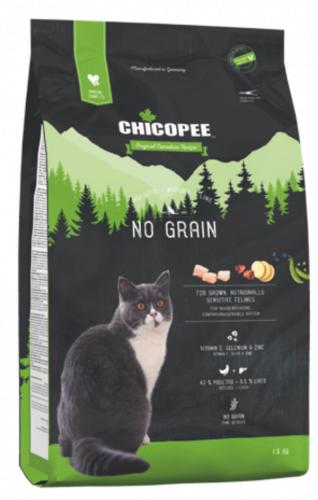Сухой корм Chicopee HNL NO GRAIN беззерновой 8 кг