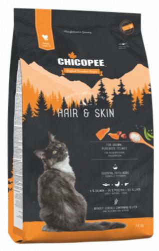 Сухой корм Chicopee HNL HAIR&SKIN для красоты шерсти 8 кг