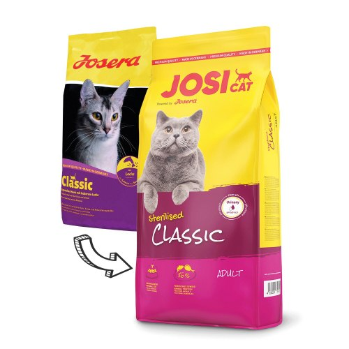 Сухой корм JosiCat Sterilised Classic 10 кг