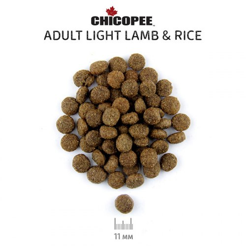 Сухой корм Chicopee CNL Лайт Ягненок с Рисом (15 кг) + ЛАКОМСТВО
