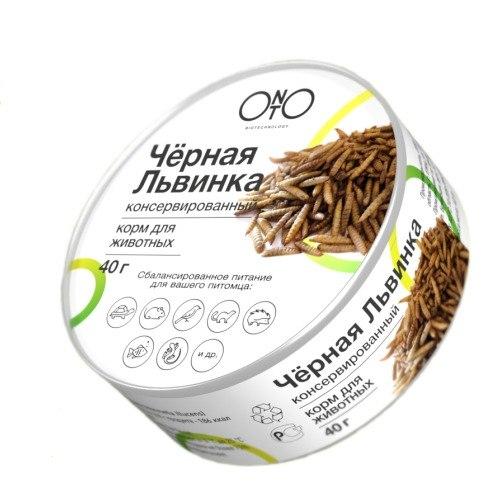 Корм ONTO Черная львинка консервированная 40гр