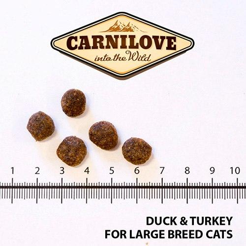 Сухой корм Carnilove Duck&Turkey for Large Breed Cats НА РАЗВЕС 100 г