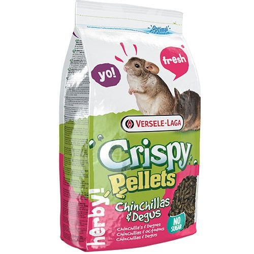 Корм Versele Laga Crispy Pellets Chinchilla & Degu 1 кг