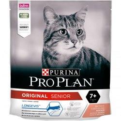 Сухой корм Pro Plan ORIGINAL 7+ для кошек старше 7 лет, с лососем 400г
