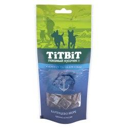 Лакомство В НАЛИЧИИ TiTBiT кубики из трески для собак, 75г