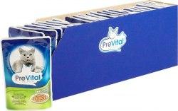 Консерва Prevital для стерилизованных кошек с птицей в соусе, 85г
