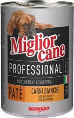Паштет Miglior cane Proffesional для собак с телятиной, 400г