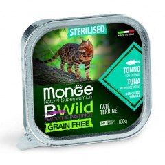 Консерва Monge Cat BW Sterelised Grain Free Tuna/Vegetables 100г