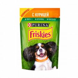 Консерва Friskies для собак всех пород с курицей, 85г