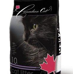 Наполнитель Canadian Cat с запахом лаванды, 10 л