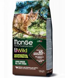 Сухой корм Monge CAT BW GF LARGE BUFFALO / POTATOES 1,5 кг