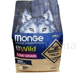 Сухой корм Monge Dog BWILD GOOSE 12 кг