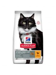 Сухой корм Hill's Sience Plan для взрослых стерилизованных кошек старше 7 лет, с тунцом 1,5 кг