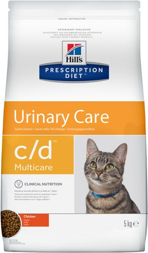 Сухой корм Hill's Prescription Diet c/d Multicare Urinary Care с курицей 5 кг