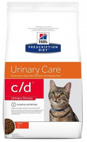 Сухой корм Hill's Prescription Diet c/d Urinary Stress Urinary Care с курицей 1,5 кг