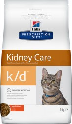 Сухой корм Hill's Prescription Diet k/d Kidney Care с курицей 400 г