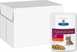 Влажный корм Hill's Prescription Diet i/d Digestive Care с курицей 12шт/85 г