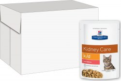 Влажный корм Hill's Prescription Diet k/d Kidney Care с говядиной 12шт/85 г