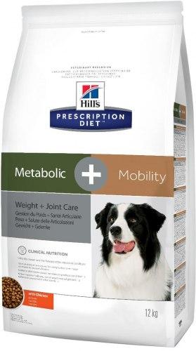 Сухой корм Hill's Prescription Diet Metabolic + Mobility Weight + Joint Care 12 кг