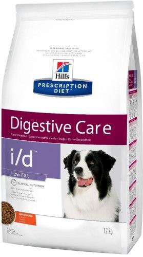 Сухой корм Hill's Prescription Diet i/d Low Fat Digestive Care, с курицей 1,5 кг
