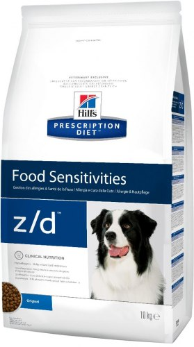 Сухой корм Hill's Prescription Diet z/d Food Sensitivities для собак 3 кг