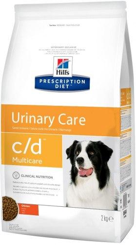 Сухой корм Hill's Prescription Diet c/d Multicare Urinary Care для собак с курицей 2 кг