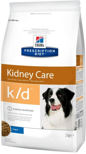 Сухой корм Hill's Prescription Diet k/d Kidney Care для собак 2 кг