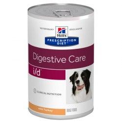 Влажный корм Hill's Prescription Diet i/d Digestive Care, с индейкой 360 г