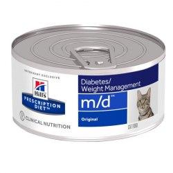 Влажный корм Hill's Prescription Diet m/d Diabetes/Weight Management для кошек 156 г