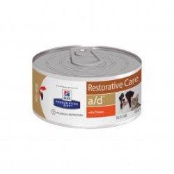 Влажный корм Hill's Prescription Diet a/d Restorative Care собак и кошек с курицей 156 г