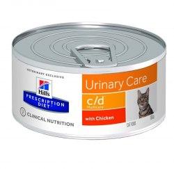 Влажный корм Hill's Prescription Diet c/d Multicare Urinary Care для кошек с курицей 156 г