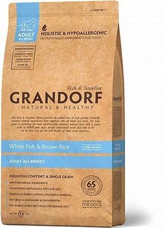 Сухой корм Grandorf DOG White Fish&Rice ALL BREEDS 3 кг.