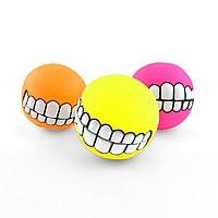Мяч с забами с пищалкой, D7.5см