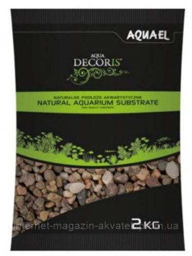 Грунт Aquael гравий натуральный 5-10 мм, 2 кг