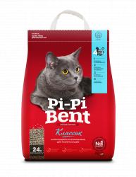 Наполнитель PiPiBent Классик, 10 кг (24л)