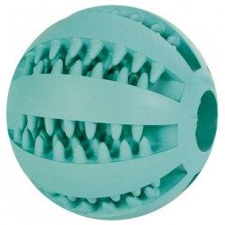 Игрушка TRIXIE DENTAfun, мяч бейсбольный, со вкусом мяты, каучук, диам.5 см