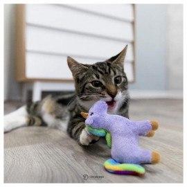 Игрушка TRIXIE для кошек Единорог, плюш, 11 см