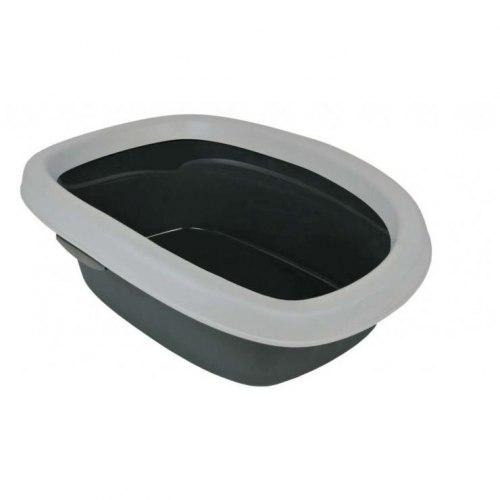 Туалет TRIXIE для кошек Be Eco Carlo, с высоким бортом, 31*14*43 см