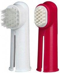 Набор TRIXIE для чистки зубов у собак (2 щетки)