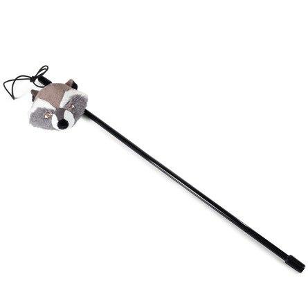 Удочка-дразнилка Triоl-Disney Marvel Ракета. Длина удочки 450 мм, игрушки 80 мм