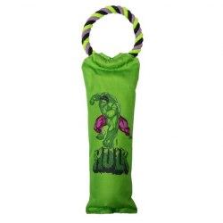"""Игрушка Triоl-Disney для собак Marvel Халк """"Бутылка на веревке"""", 420 мм"""