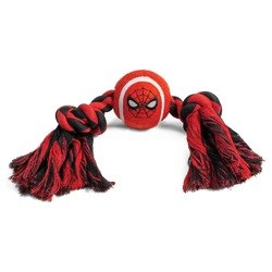 Игрушка Triоl-Disney для собак Marvel Человек Паук «Верёвка и мяч», 350 мм