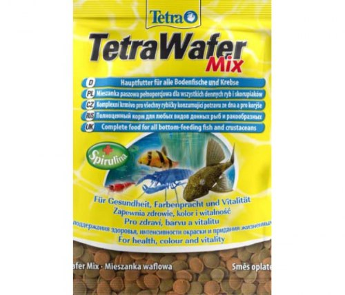 Корм Tetra Sachet TetraWafer Mix 15г