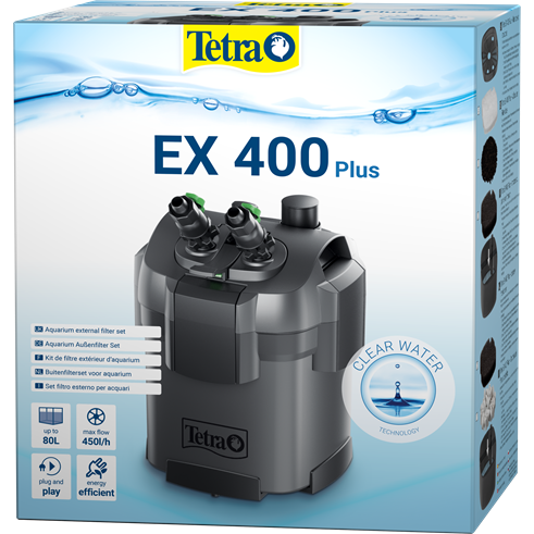 Внешний фильтр Tetra External Filter EX 400 Plus